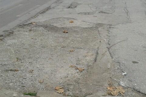 Σπασμένο Πεζοδρόμιο